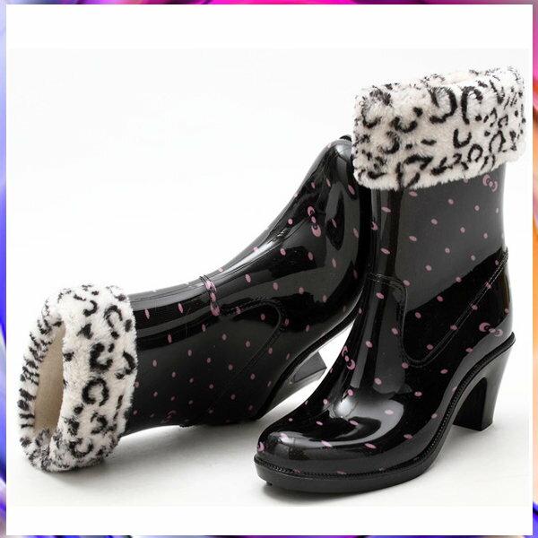 中筒雨靴雨具 -防水防滑時尚流行男女雨鞋3色5s47【韓國進口】【米蘭精品】