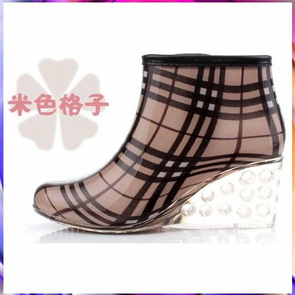 短筒雨靴雨具 -防水防滑時尚流行男女雨鞋5色5s48【韓國進口】【米蘭精品】