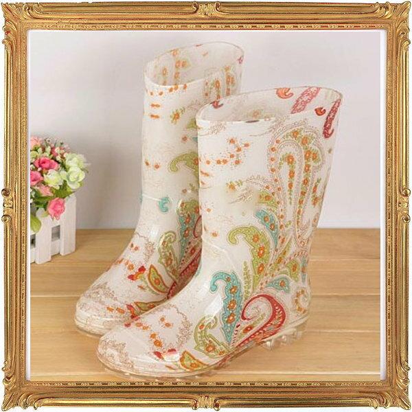 中筒雨靴雨具 -防水防滑時尚流行男女雨鞋11色5s52【韓國進口】【米蘭精品】