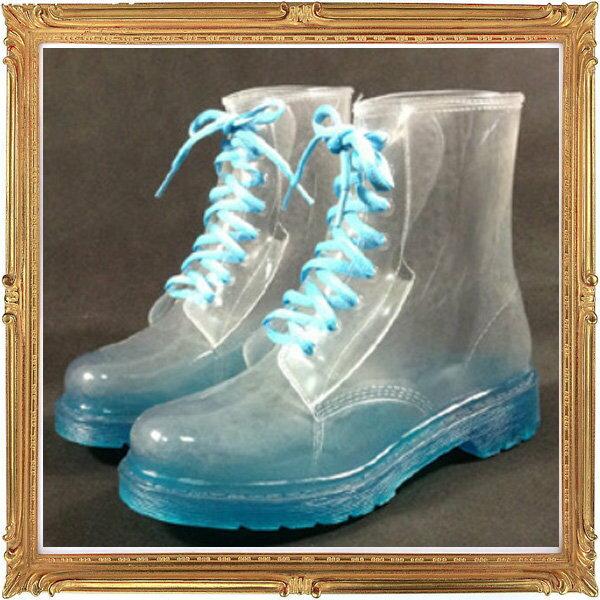 中筒雨鞋 雨具~防水防滑 女雨靴8色5s53~韓國 ~~米蘭 ~
