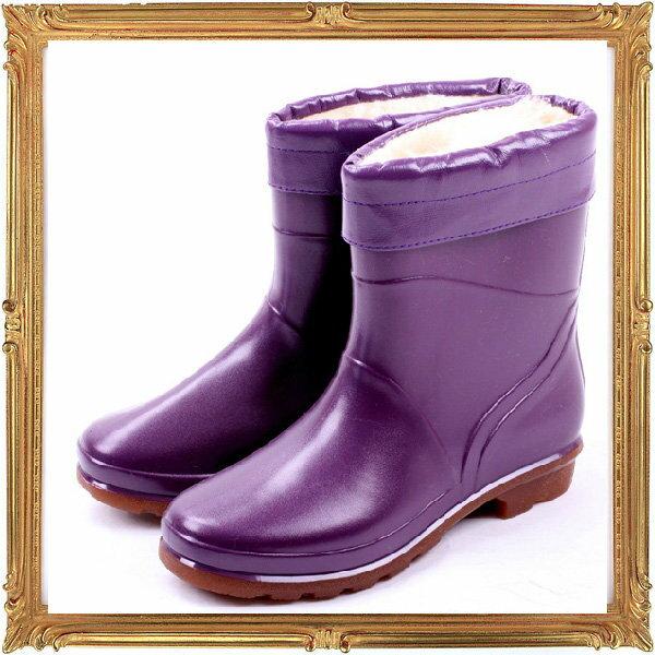 短筒雨鞋雨具 -防水防滑時尚流行女雨靴8色5s54【韓國進口】【米蘭精品】