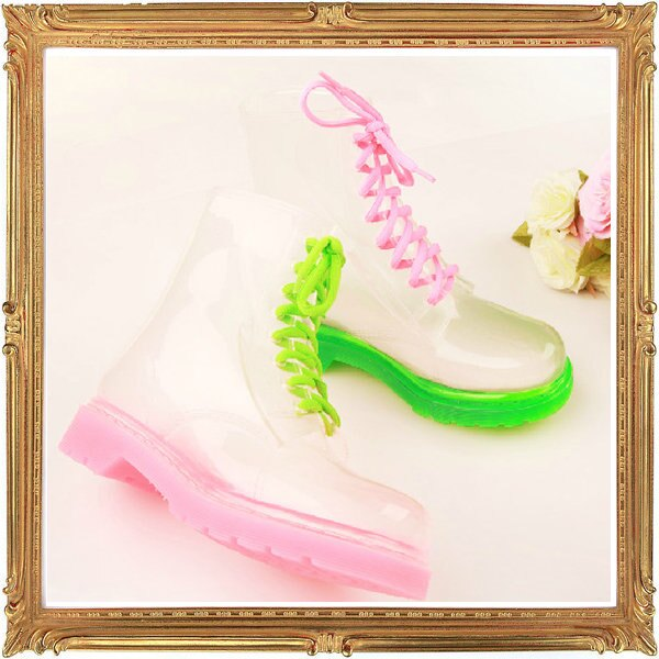 中筒雨鞋雨具 -防水防滑時尚流行女雨靴17色5s65【韓國進口】【米蘭精品】