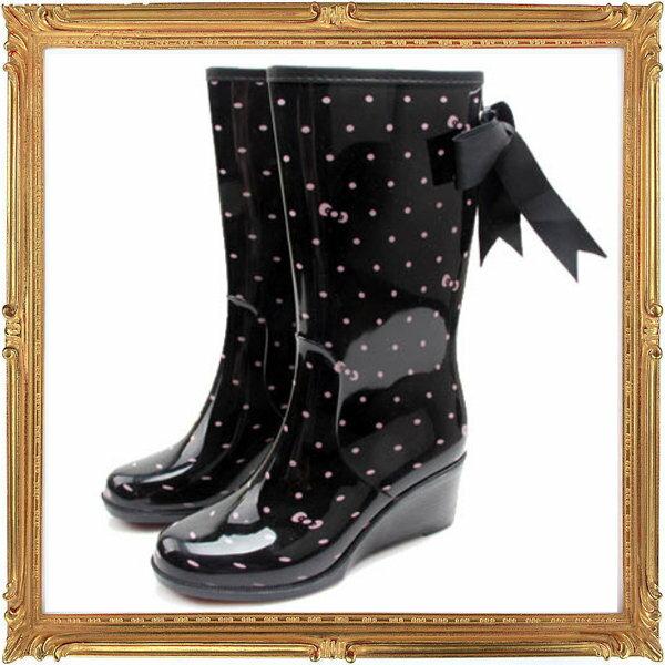 中筒雨鞋雨具 -防水防滑時尚流行女雨靴4色5s75【韓國進口】【米蘭精品】