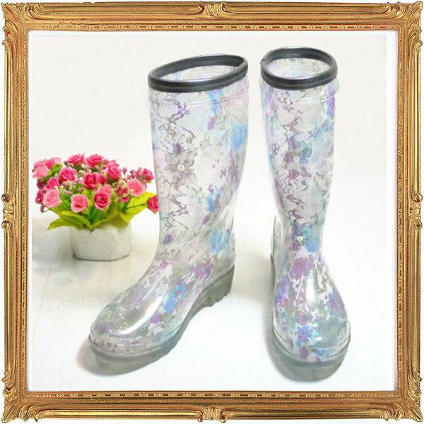 中筒雨鞋雨具 -防水防滑時尚流行女雨靴2色5s80【韓國進口】【米蘭精品】