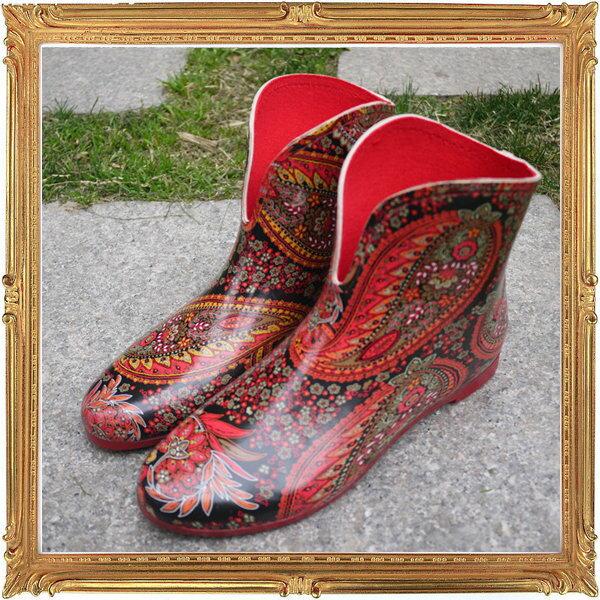 短筒雨鞋雨具 -防水防滑時尚流行女雨靴3色5s87【韓國進口】【米蘭精品】