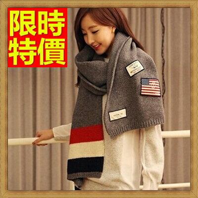 ☆羊毛披肩 圍巾- 韓風針織毛線國旗加厚女斗篷63ag16【義大利 】【米蘭 】