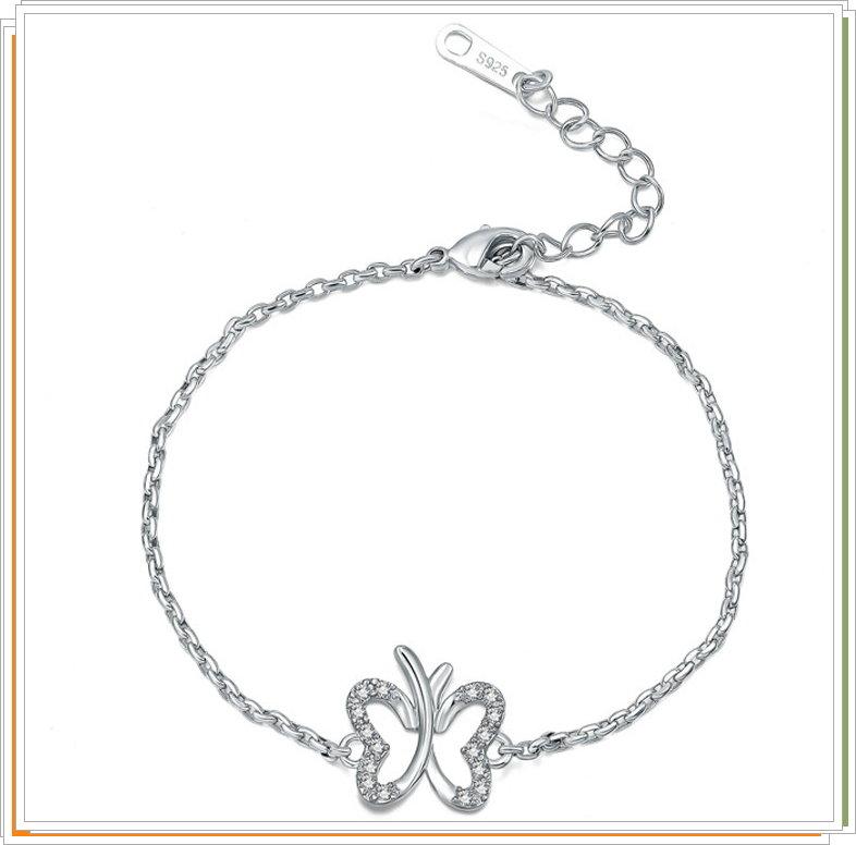 ☆925純銀手鍊 手環-情人節母親節生日禮物女配件6c30【美國進口】【米蘭精品】
