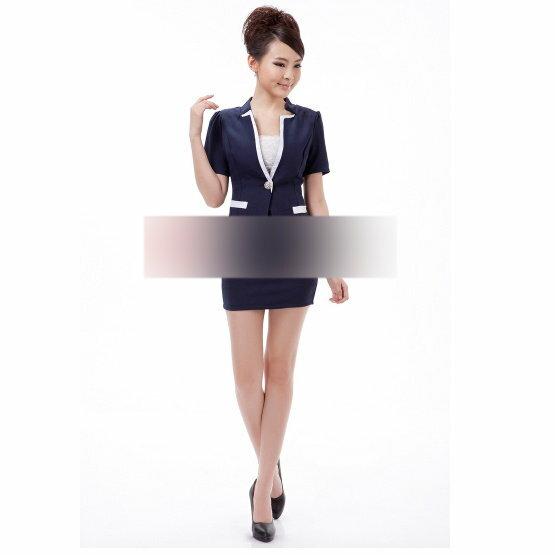 ☆職業套裝 OL制服-流行長袖修身顯瘦女裙裝6h15【韓國進口】【米蘭精品】