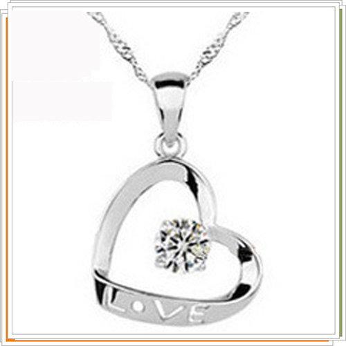 ~~925純銀~項鍊 墜飾女銀飾~銀飾母親節生日情人節 7v11~美國 ~~米蘭 ~