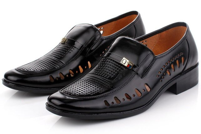 <br/><br/> ☆涼鞋休閒鞋-夏季透氣清涼皮革男鞋子6s4【義大利進口】【米蘭精品】<br/><br/>