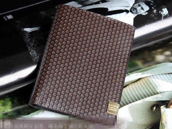 短夾 真皮錢包-流行經典商務男皮夾bm60【義大利進口】【米蘭精品】