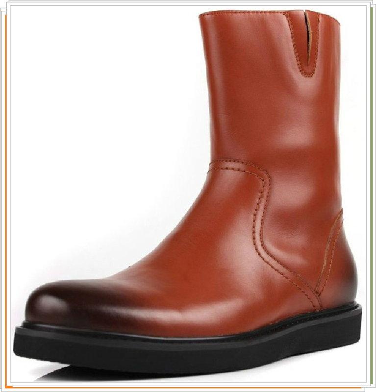 <br/><br/> ☆馬丁靴 真皮男鞋子-英倫時尚經典中筒靴2色5s22【義大利進口】【米蘭精品】<br/><br/>