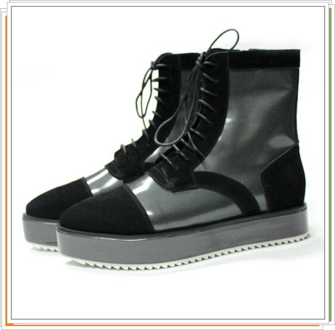 <br/><br/>  ☆男靴子真皮馬丁靴-英倫時尚經典中筒靴2色5s51【義大利進口】【米蘭精品】<br/><br/>