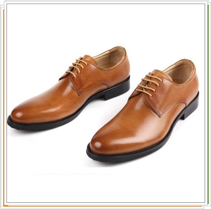 真皮皮鞋 休閒鞋~ 商務男鞋子3色5s83~義大利 ~~米蘭 ~