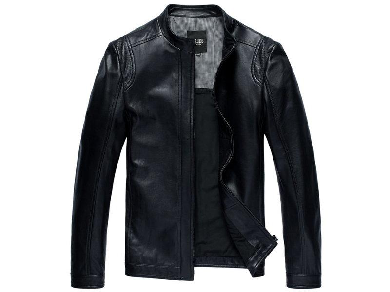皮衣外套 機車夾克-立領帥氣修身男外套3色cm114【韓國進口】【米蘭精品】