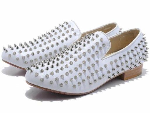 懶人鞋 休閒鞋-經典時尚鉚釘型男鞋子7色a88 【韓國進口】【米蘭精品】