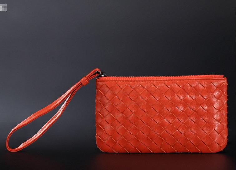 ☆手拿包 真皮編織包-經典時尚手工皮革女包包8色8m5【義大利進口】【米蘭精品】