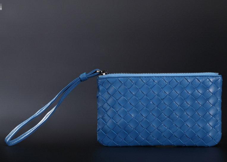 手拿包 真皮編織包-經典時尚手工皮革女包包8色8m5【義大利進口】【米蘭精品】
