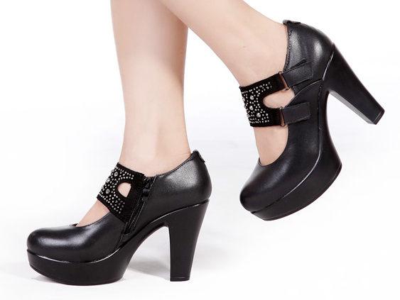 高跟鞋 厚底休閒鞋-時尚氣質優雅亮麗女鞋子nws27【韓國進口】【米蘭精品】