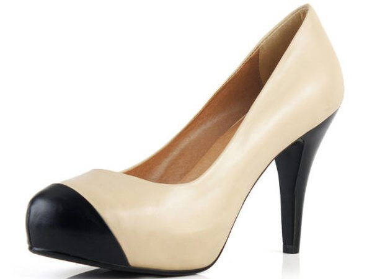 ☆圓頭高跟鞋 休閒鞋-OL時尚氣質女鞋子2色s133【韓國進口】【米蘭精品】