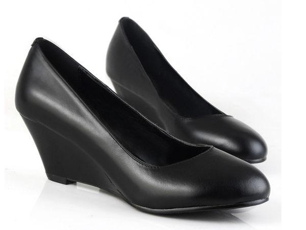 高跟鞋 坡跟休閒鞋-時尚氣質優雅亮麗女鞋子s174【韓國進口】【米蘭精品】