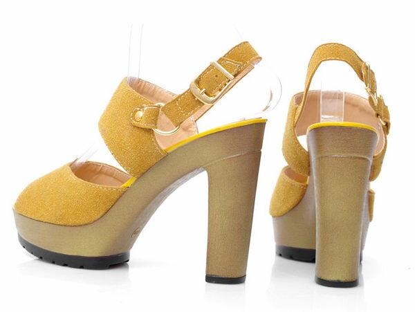 ☆粗跟高跟鞋 休閒鞋-OL時尚氣質優雅女鞋子4色s179【韓國進口】【米蘭精品】