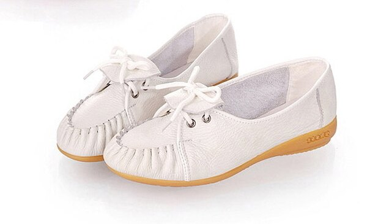 ☆平底鞋 坡跟休閒鞋-時尚氣質OL通勤女鞋子3色s71【韓國進口】【米蘭精品】