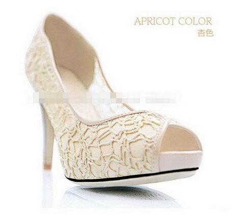 ☆魚口高跟鞋 女鞋子-時尚氣質優雅女休閒鞋3色ws13【韓國進口】【米蘭精品】