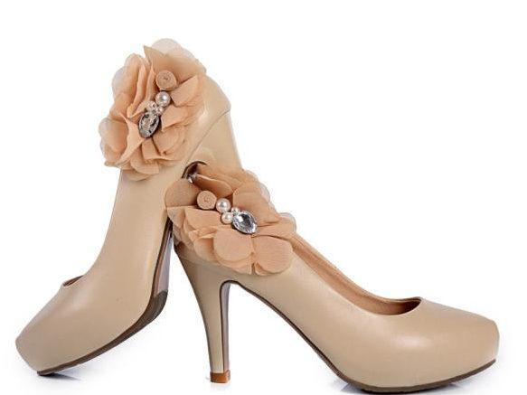 圓頭 高跟鞋 休閒鞋-時尚氣質優雅亮麗女鞋子2色ws48【韓國進口】【米蘭精品】