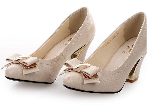 ☆粗跟高跟鞋 休閒鞋-時尚氣質優雅休閒女鞋子2色ws61【韓國進口】【米蘭精品】