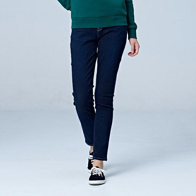 Lee 433高腰合身窄腳牛仔褲 / RG-深藍色 1