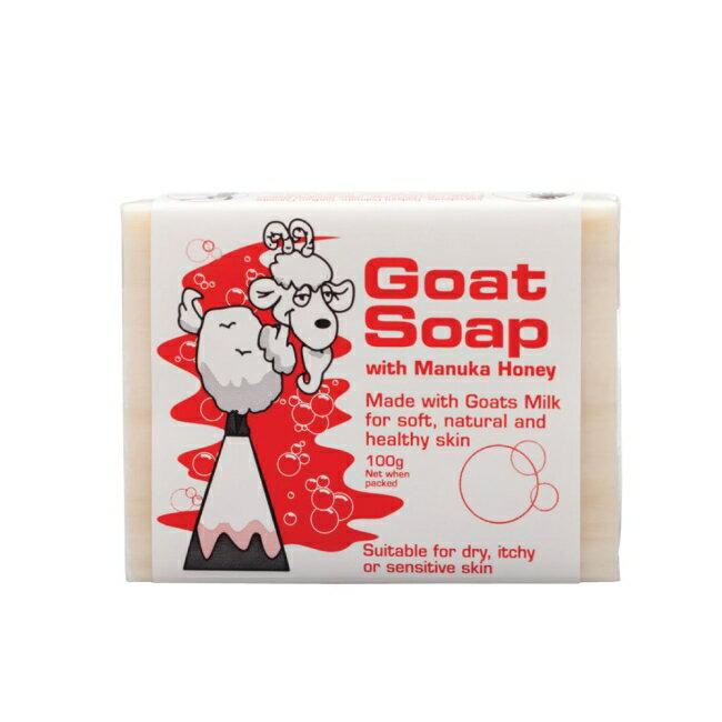 倍立雅Goat澳洲天然羊乳皂(蜂蜜)100g(柔嫩健康,溫和洗淨細緻呵護)