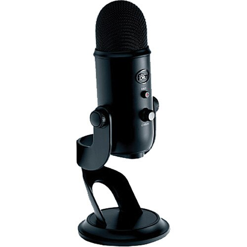 Blue Yeti USB Microphone (Blackout) YETI BLACKOUT