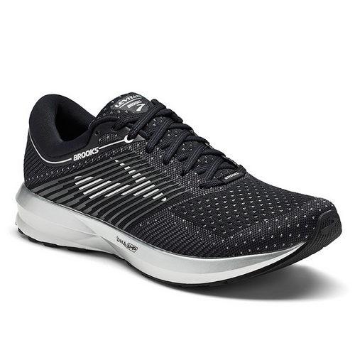 布魯克斯Brooks女跑鞋(黑)Levitate動能避震款跑鞋黑白鞋情侶鞋1202581B004【胖媛的店】