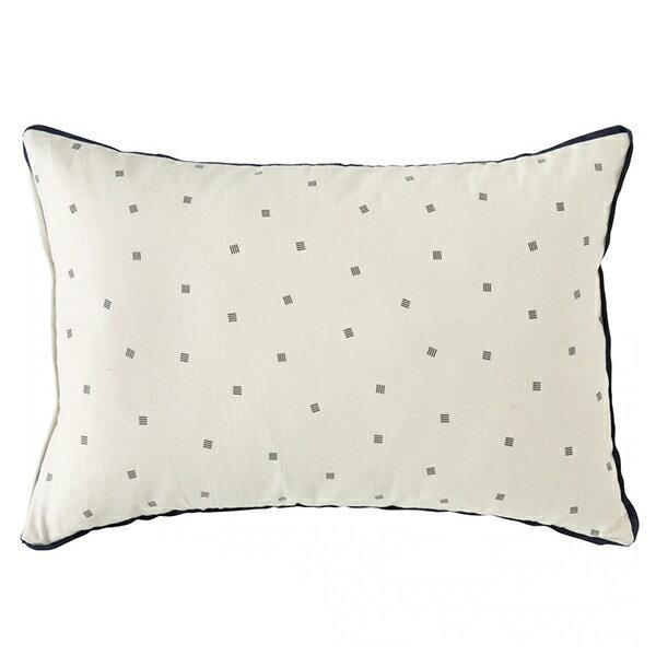 純棉枕套 法蘭絨 LETTER 43×63 NITORI宜得利家居 2