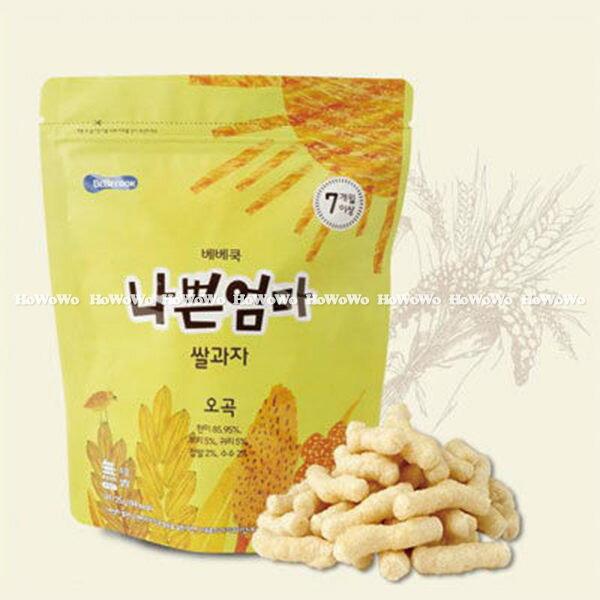韓國 智慧媽媽 BEBECOOK 穀物棒/米餅(7個月以上) BGB5083