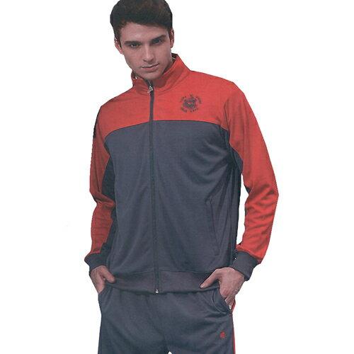 義大利名牌SINA COVA男女吸濕排汗單層針織運動服套裝-全套(紅灰)#S8200AB - 限時優惠好康折扣