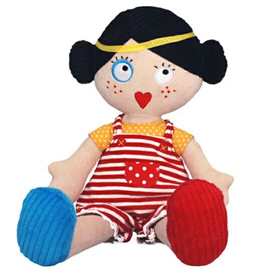 【全新品3折出清】法國【 DEGLINGOS 】人型布偶 - 奧黛麗 Les Mistinquettes Pop Lucette