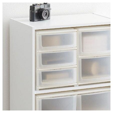 彩色櫃 層櫃用 A5 PP收納盒 3層 三層淺型抽屜 NITORI宜得利家居