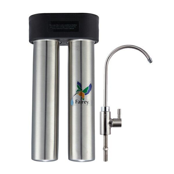 自然力-黑剛號雙管濾水器F-IS201