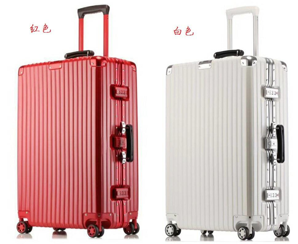 《箱旅世界》BoxTrip 20吋復古、懷舊防刮登機箱 行李箱 旅行箱 鋁框箱 6