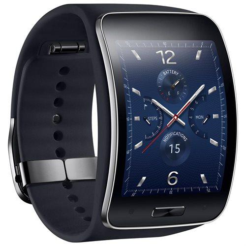 Samsung Galaxy Gear S R750 SM-R750A Smart Watch - Black 0