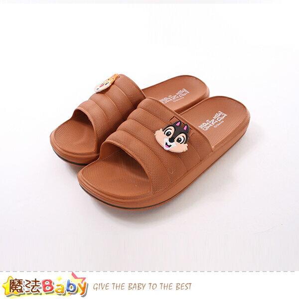 女鞋迪士尼松鼠奇奇蒂蒂正版軟Q拖鞋魔法Baby~sk0501