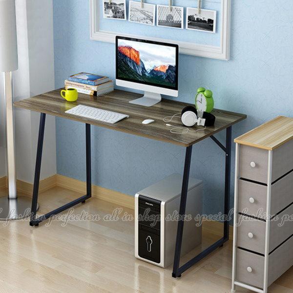 簡約電腦桌T100 工作桌(普通款) 辦公桌 置物桌 書桌【AH105】◎123便利屋◎