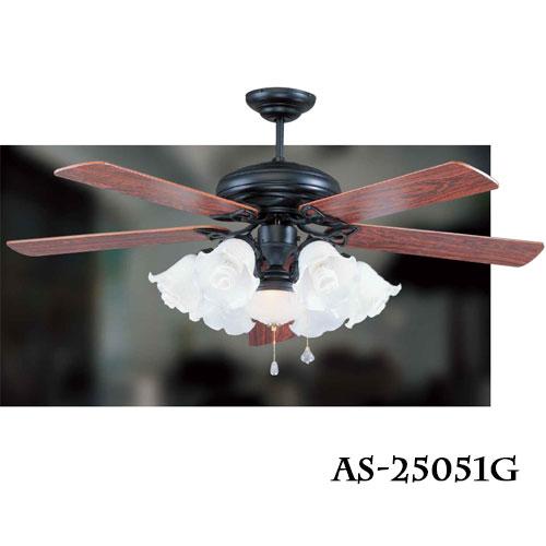 領航者 ASAIILER 傳統系列/60吋 吊扇燈 風扇燈 尊爵黑 光源另計 〖永光照明〗AS-25051+AS-25052