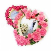 婚禮小物推薦到派樂 粉嫩愛心系列相框2入/婚禮擺設/送禮小物/聖誕交換禮物/擺飾/情人節禮品