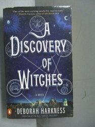 【書寶二手書T1/原文小說_MGN】A Discovery of Witches_Deborah Harkness