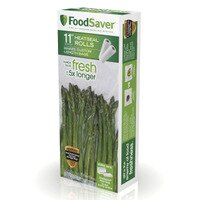 Deals on 2 Pack FoodSaver 11-in x 16-ft Vacuum Seal Roll