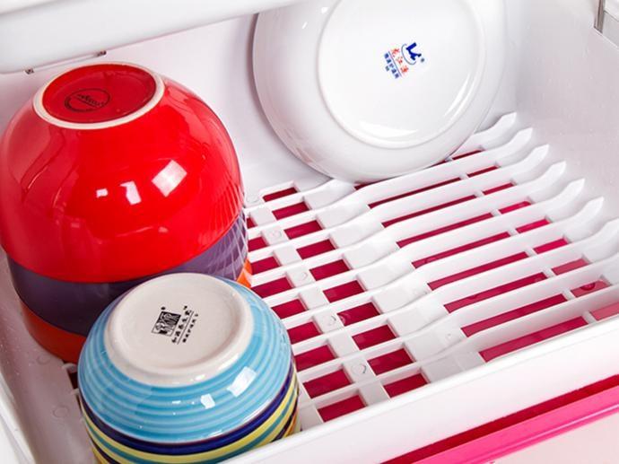 大號雙層瀝水碗架收納架(顏色隨機出貨)