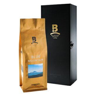 伯朗精品咖啡豆 牙買加 克萊斯德爾 藍山咖啡豆木盒組(250公克裝)